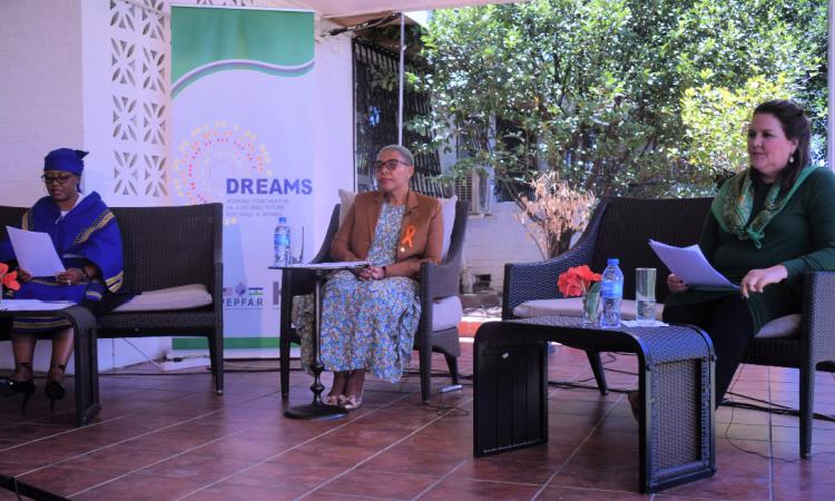 Ambassador Gonzales hosts DREAMS dialogue
