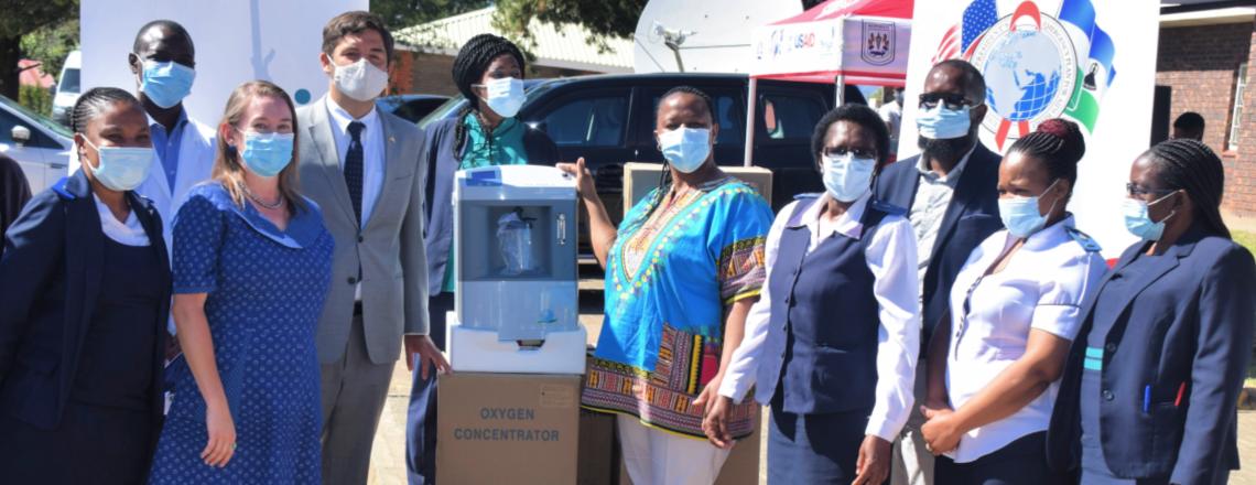 U.S. Donates Oxygen Concentrators to Berea Hospital