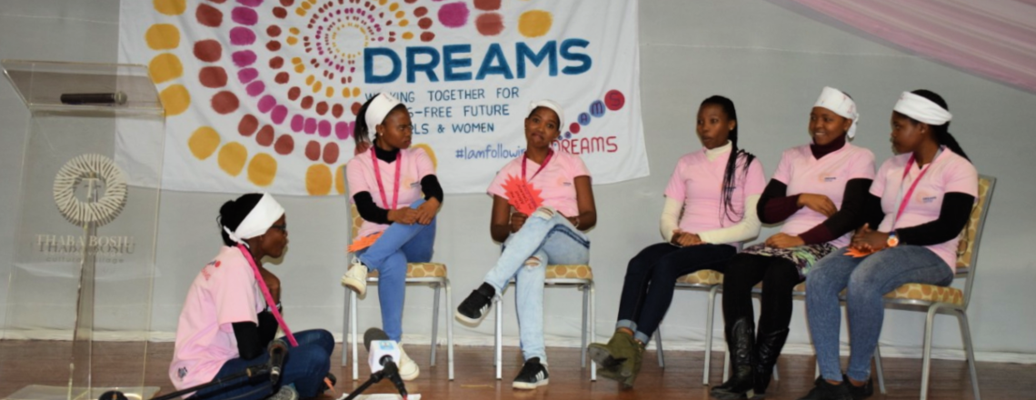 Ambassador Gonzales Helps Launch 'DREAMS, For Girls Like Us' Campaign