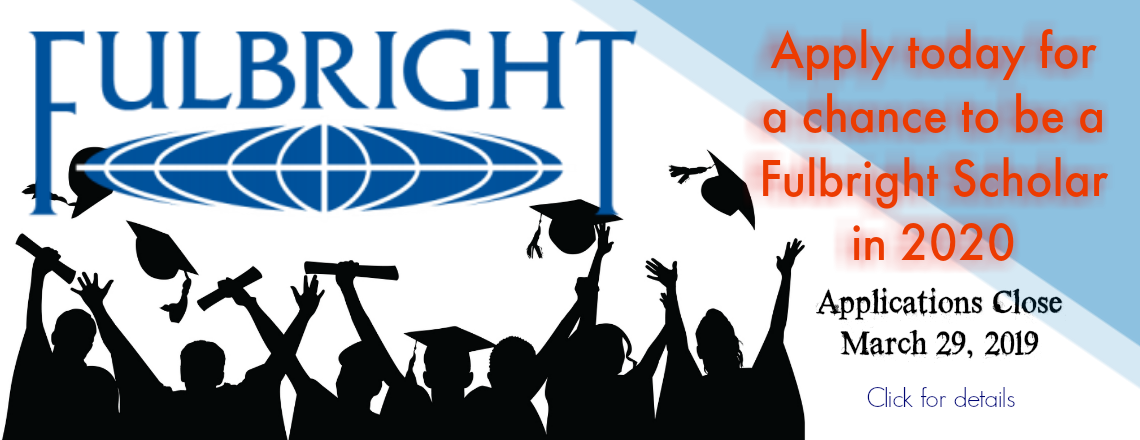 Fulbright Scholarship Applications Now Open
