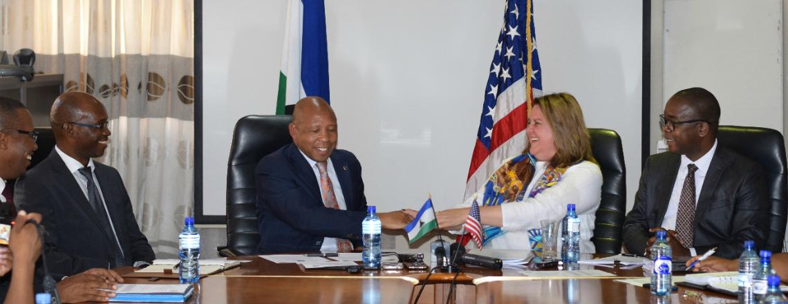 U.S. Invests $5.7 million to help Lesotho towards MCC Compact II Development
