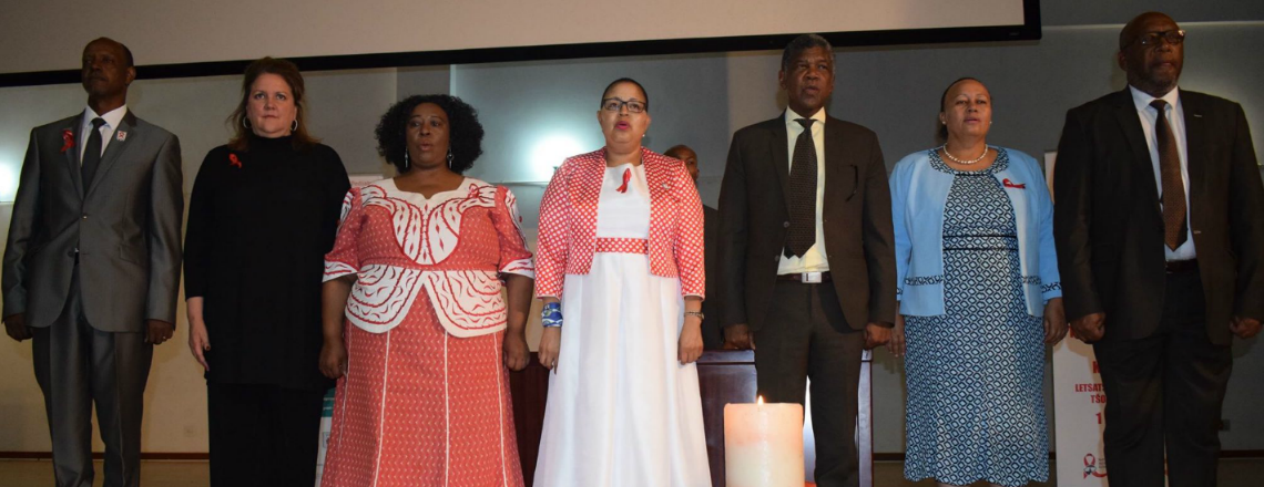 Ambassador Gonzales Attends World AIDS Day 2018 Commemoration Event