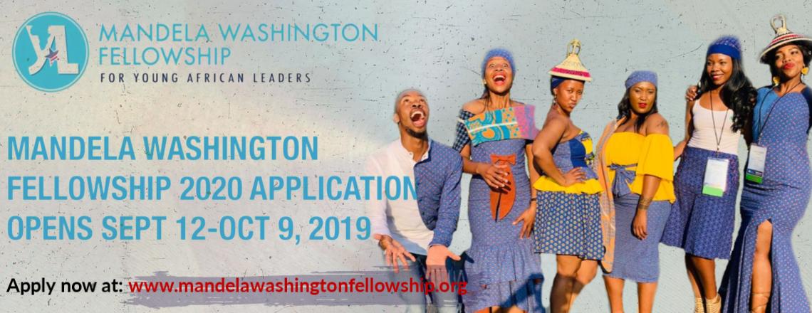 Apply for Mandela Washington Fellowship 2020 Today!