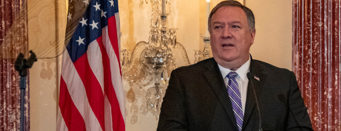 Secretary of State Pompeo at the 2019 Trafficking in Persons Report Launch Ceremony