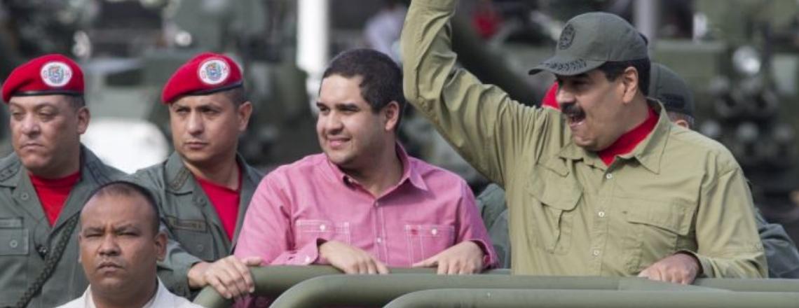 The United States Sanctions Nicolas Maduro Guerra