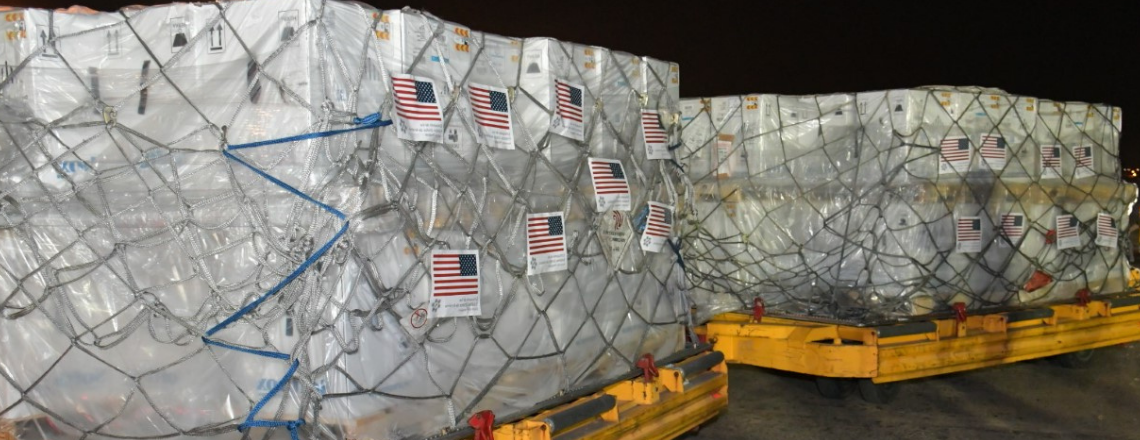 Segunda donación de los Estados Unidos de un millón de vacunas Pfizer llegará a Paraguay e
