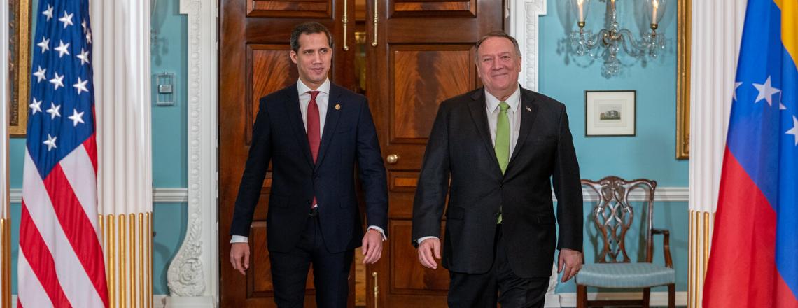 Secretary Pompeo's Meeting with Interim President of Venezuela, Juan Guaido