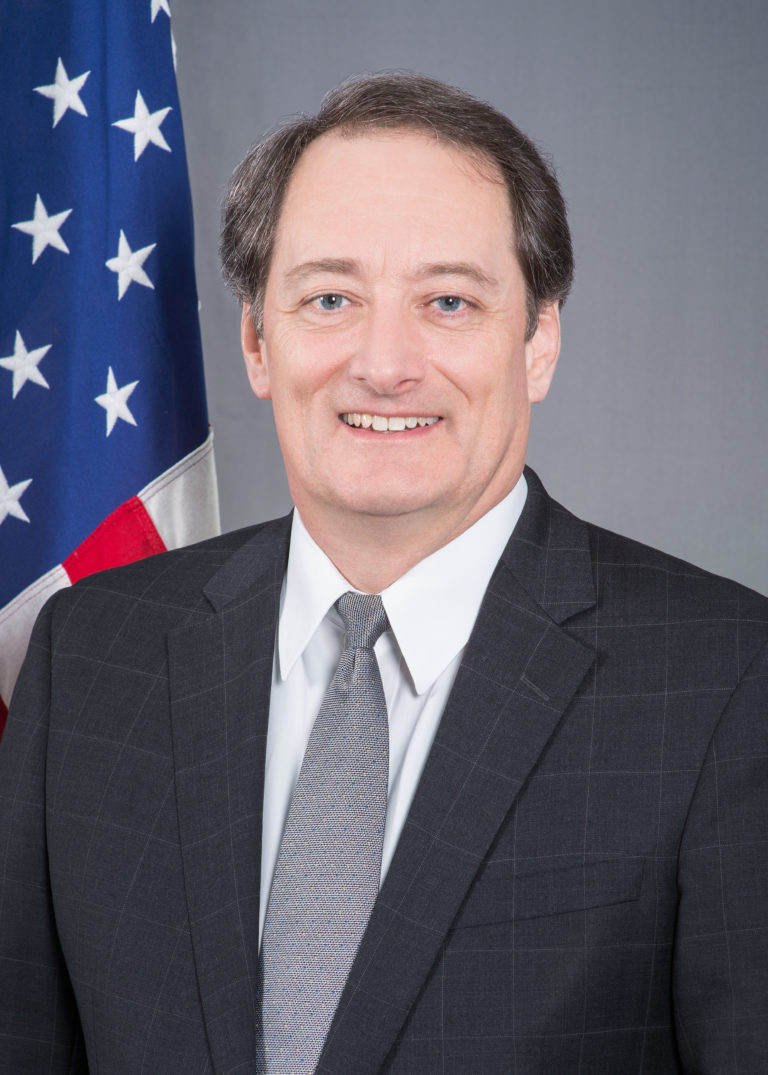 Photo of US Ambassador to the Republic of Paraguay, Lee McClenny
