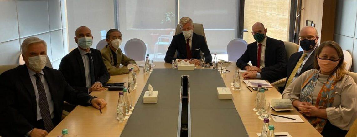 بيان صادر عن رؤساء بعثات الدول الخمس لدى اليمن بشأن اجتماعهم مع المبعوث الخاص للأمم المتحد