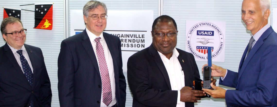 USAID joins IFES in support of the Bougainville Referendum Commission