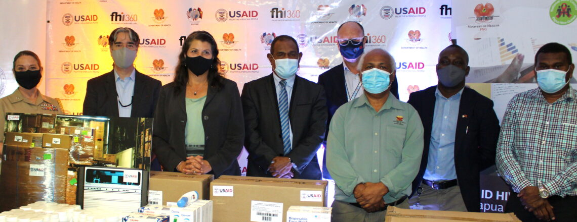 Marking World AIDS Day, United States Supports PNG's HIV/AIDS Response