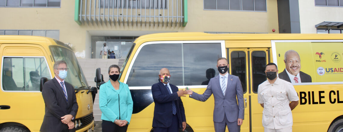 U.S. Government Launches Mobile COVID-19 Vaccine Clinic in Port Moresby