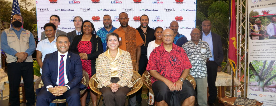 U.S. Government Launches New Initiative to Promote PNG's Creative Industries