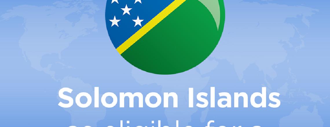 Millennium Challenge Corporation selects Solomon Islands