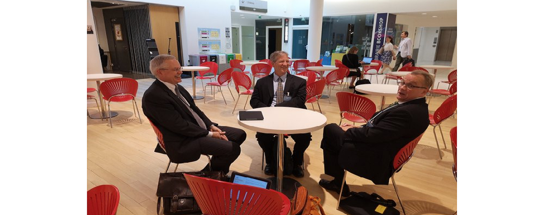 USOECD CDA Haviland meets with USDOL