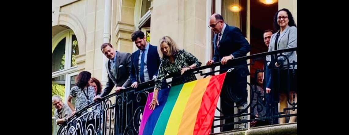 USOECD Raises the Rainbow Flag in Celebration of Pride Month