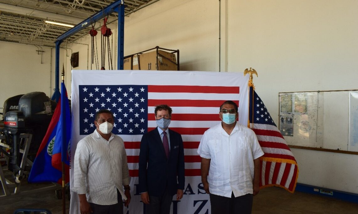 U.S. Government Provides Critical Maritime and Tactical Equipment to the Belize Coast Guard
