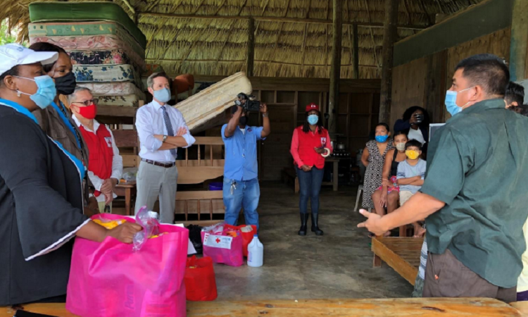 U.S. Government Coordinates with UNICEF, NEMO, and Belize Red Cross on Joint Emergency Response to COVID-19