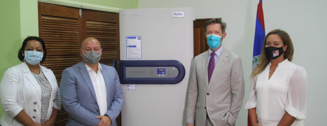 United States Donates Ultralow Temperature Vaccine Freezer to Ministry of Health and Welln