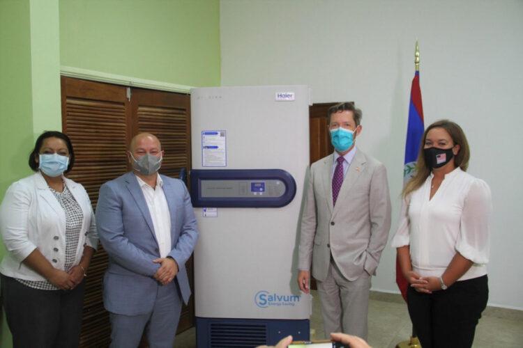 United States Donates Ultralow Temperature Vaccine Freezer