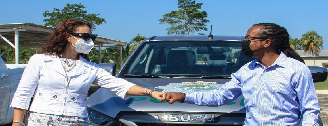 U.S. Embassy Donates Vehicles to Support the Fight Against Crime in Belize