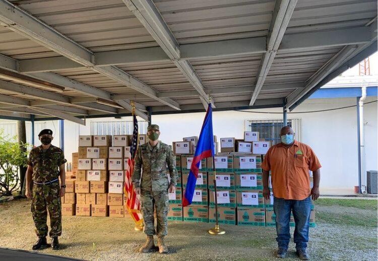 U.S. Government Delivers COVID-19 Response Supplies to NEMO