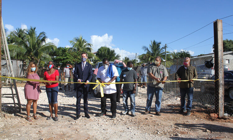 group of people at a groundbreaking event