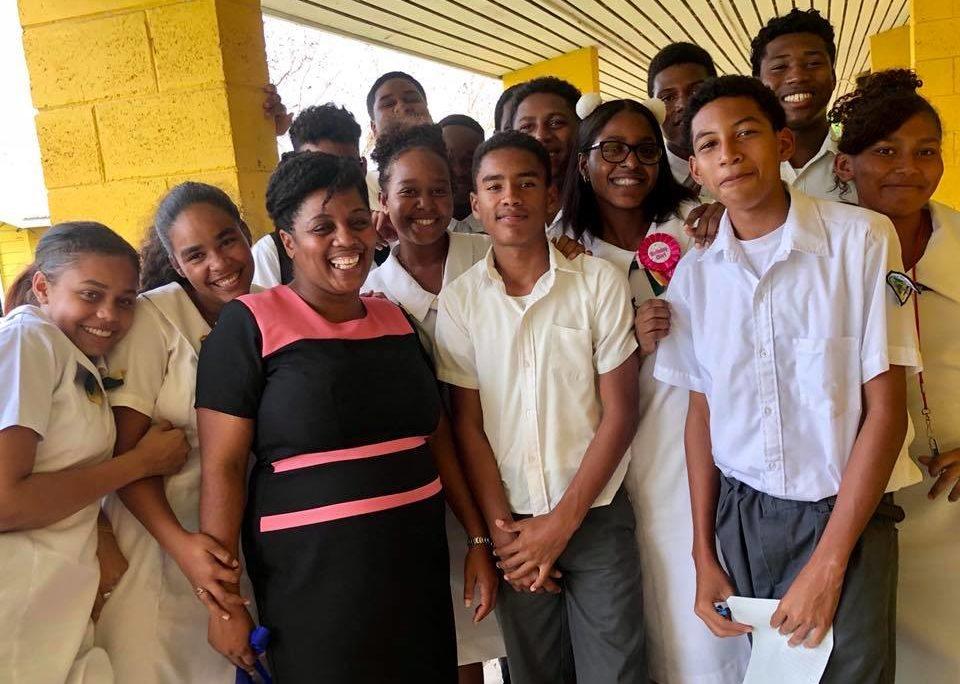Teen girls in Belmopan