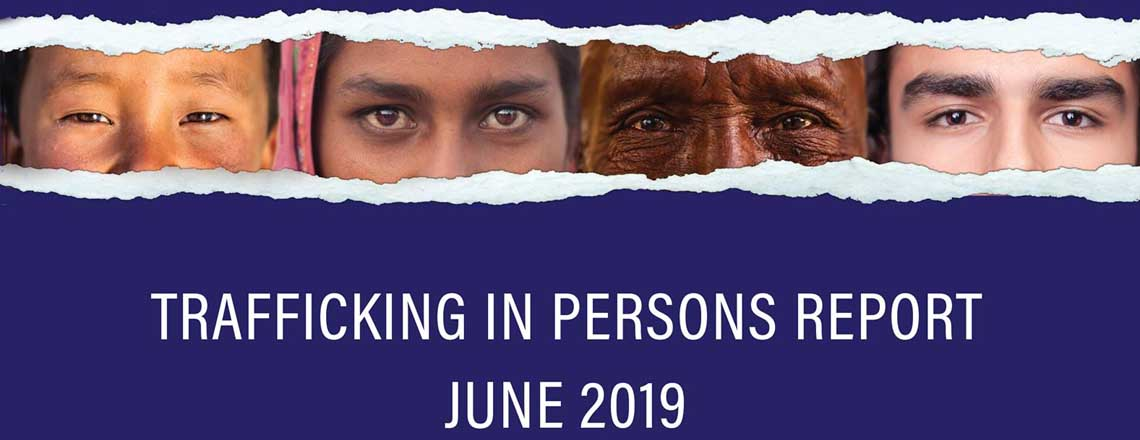 Trafficking In Persons (TIP) Report 2019