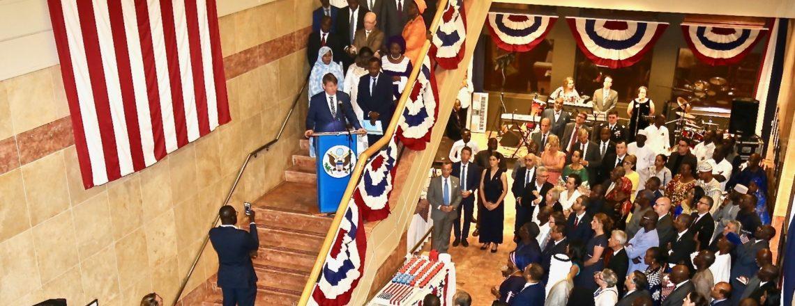 Ambassador Hankins Highlights Enduring Partnership between U.S. and Mali at 4th July Event
