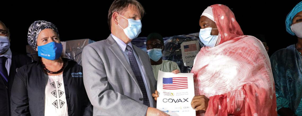 United States Donates COVID-19 Vaccines for Mali
