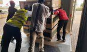 Arrivée de la deuxième livraison des vaccins américains Johnson & Johnson COVID-19 au Mali