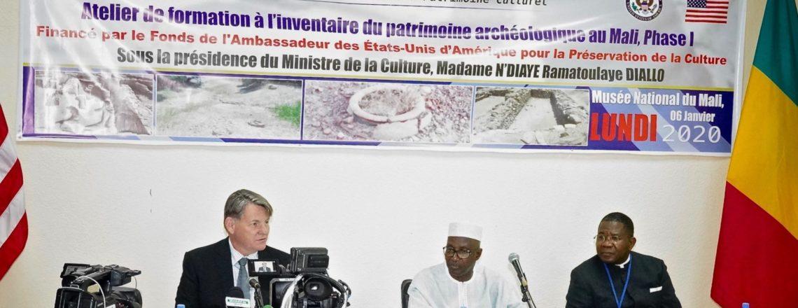 U.S. Ambassador's Fund for Cultural Preservation Project Opens in Bamako