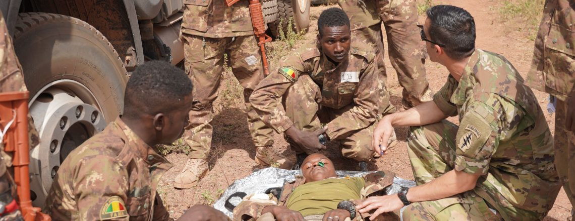 U.S. Army Trains Malian Troops on Tactical Combat Casualty Care