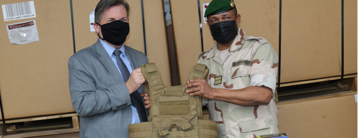 U.S. Embassy Continues Support to GSIGN with Equipment Donation
