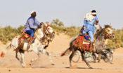Dangha-course des chevaux