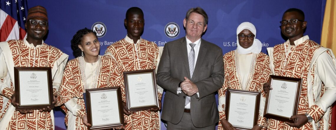 U.S. Embassy Celebrates International Youth Day with Young Malian Leaders
