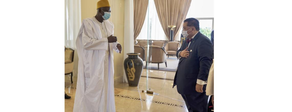 Déplacement au Mali de l'Envoyé Spécial pour la Région du Sahel, le Dr J. Peter Pham