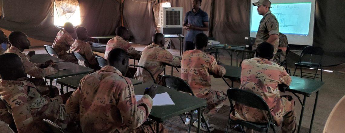 L'Armée Américaine Forme les Troupes Maliennes en Matière de Coopération Civilo-Militaire