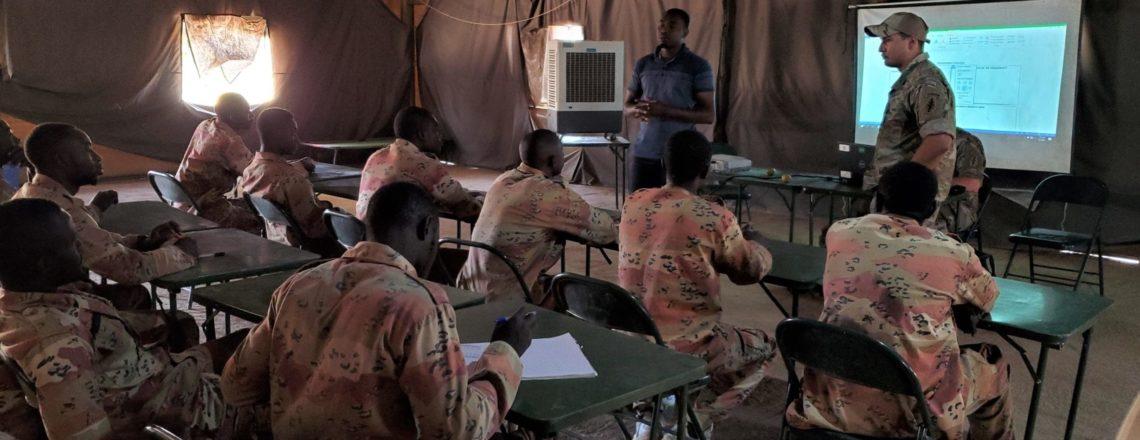 U.S. Army Provides Civil-Military Training to Malian Troops