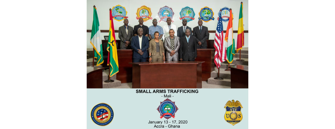 U.S. Supports Malian Law Enforcement Professionals to Combat Small Arms Trafficking