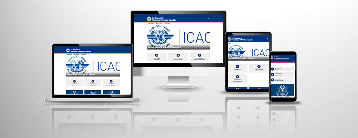 Welcome to the new U.S. Mission ICAO website