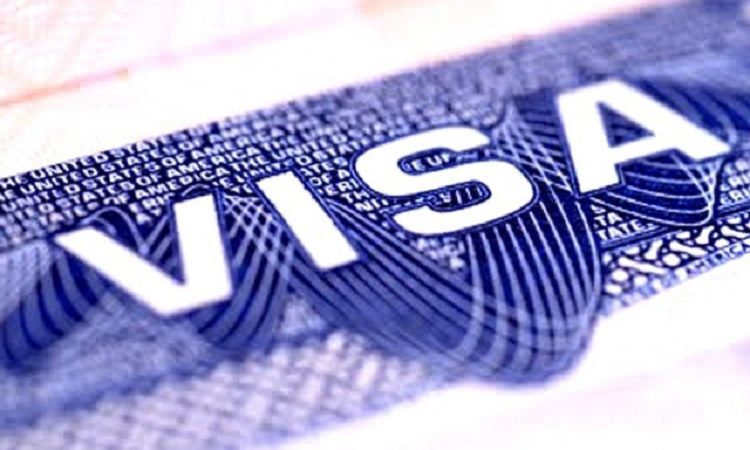 An image of a visa.