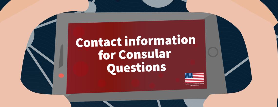 Consular Questions