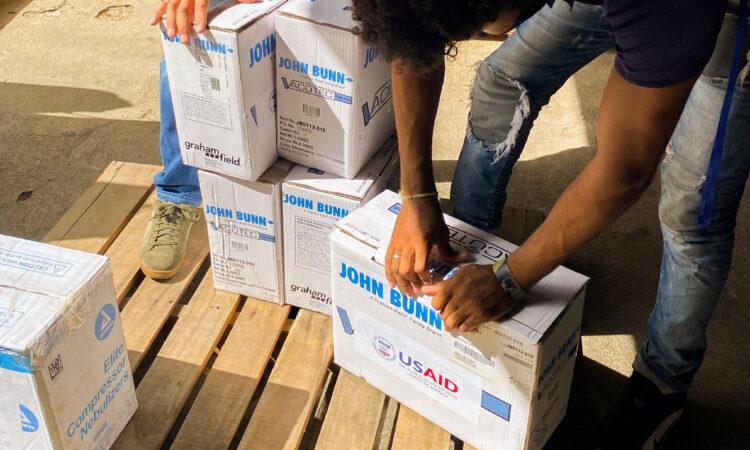 US donations Covid19