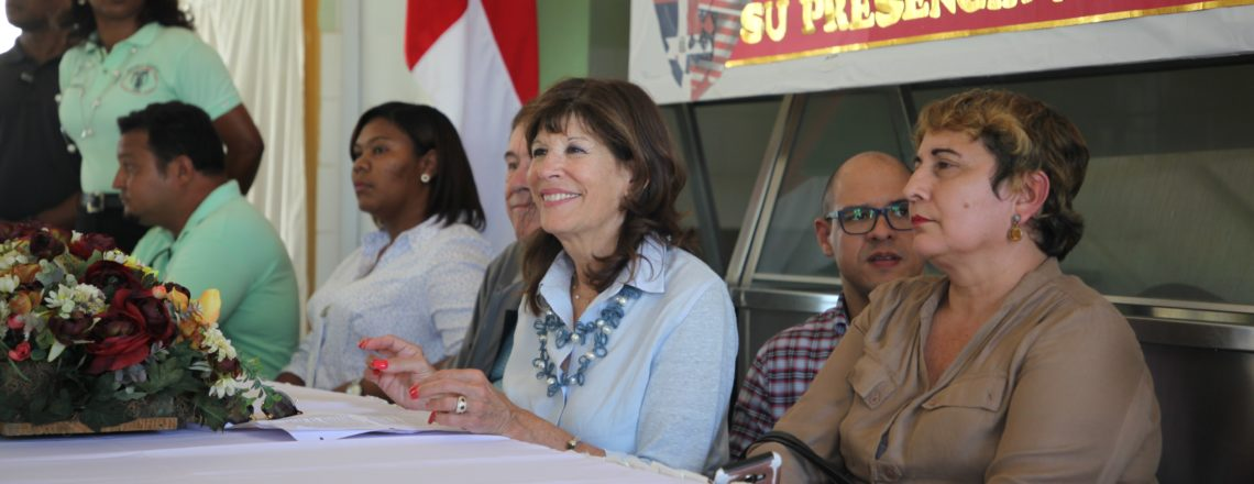 US Ambassador Tours Northwest Area of the Dominican Republic