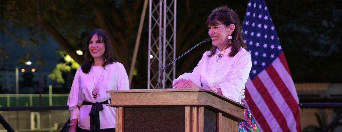 Embajadora Bernstein celebra primer aniversario en República Dominicana