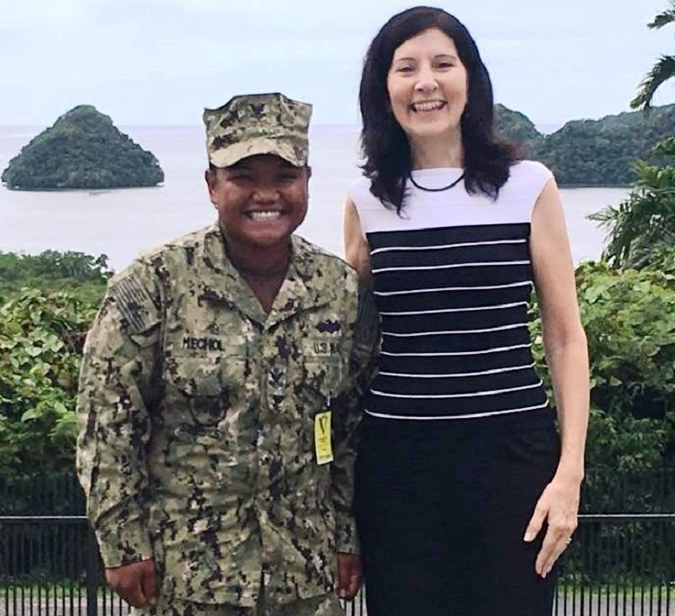 Recognizing and Honoring Palauan Women's Service in US Military #BeBoldforChange