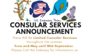 Consular Services Announcement