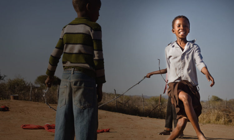 Picture of two children playing (ForeignAssistance.gov)